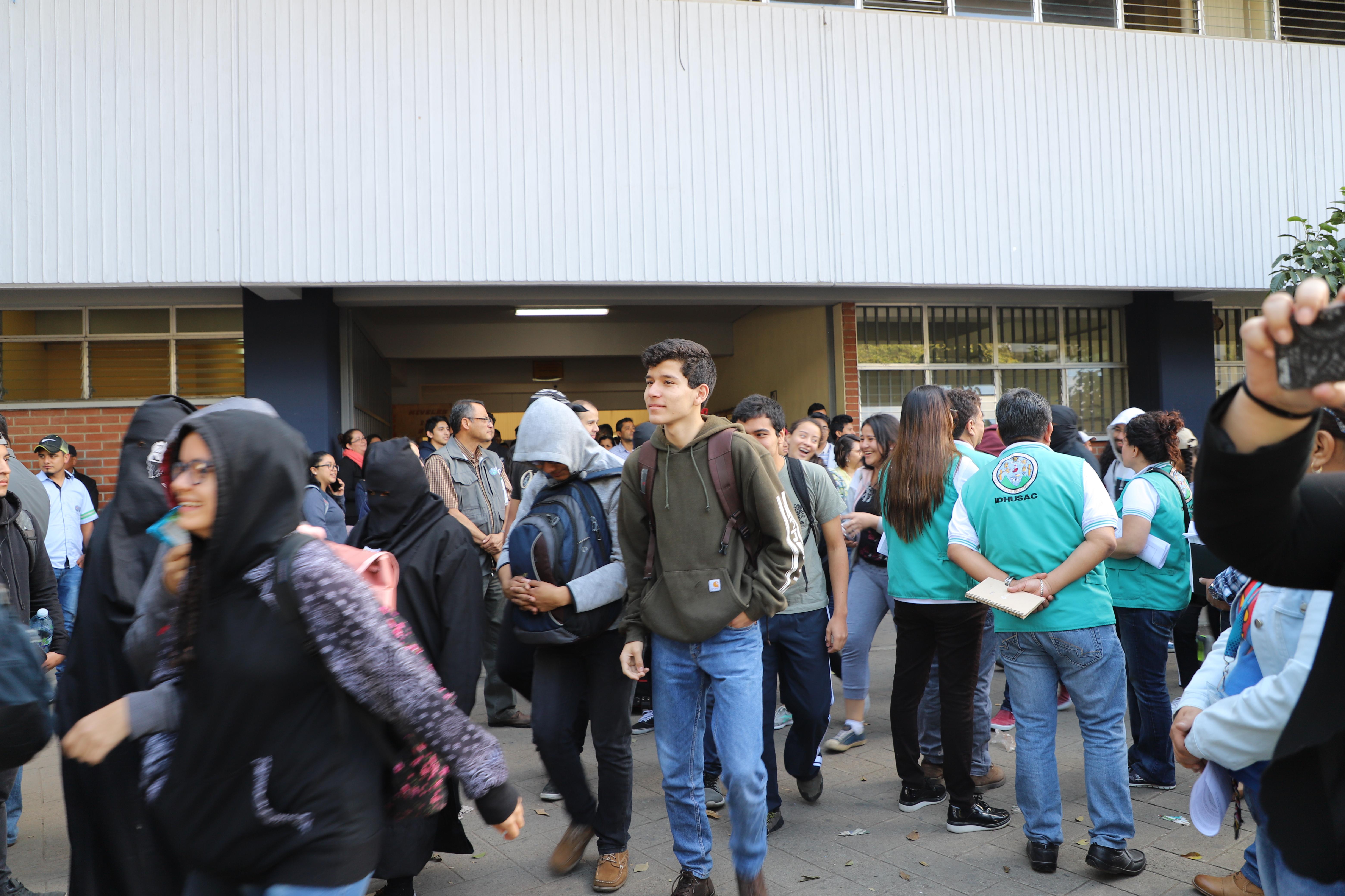 Las actividades académicas se realizaron con normalidad. Fotografía de Elio Morales.