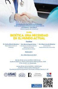 Bioética una necesidad en el mundo actual @ Centro Universitario Metropolitano CUM