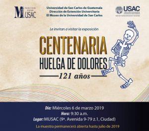 Centenaria Huelga de Dolores (Exposición) @ MUSAC