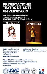Presentaciones de teatro universitario @ Paraninfo