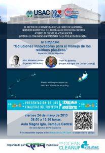Simposio Soluciones innovadoras para el manejo de los residuos plásticos @ Aula Magna Iglú